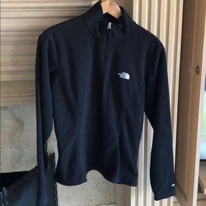 The North Face half-zip fleece pullover. Size M.